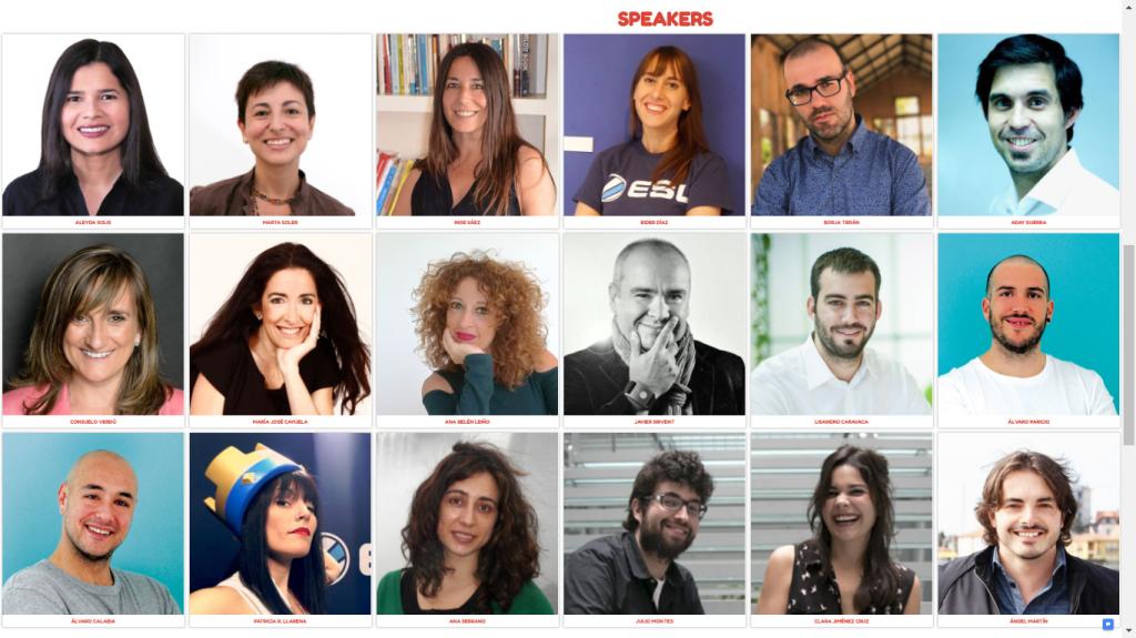 Ponentes de Santander Social Weekend 2018